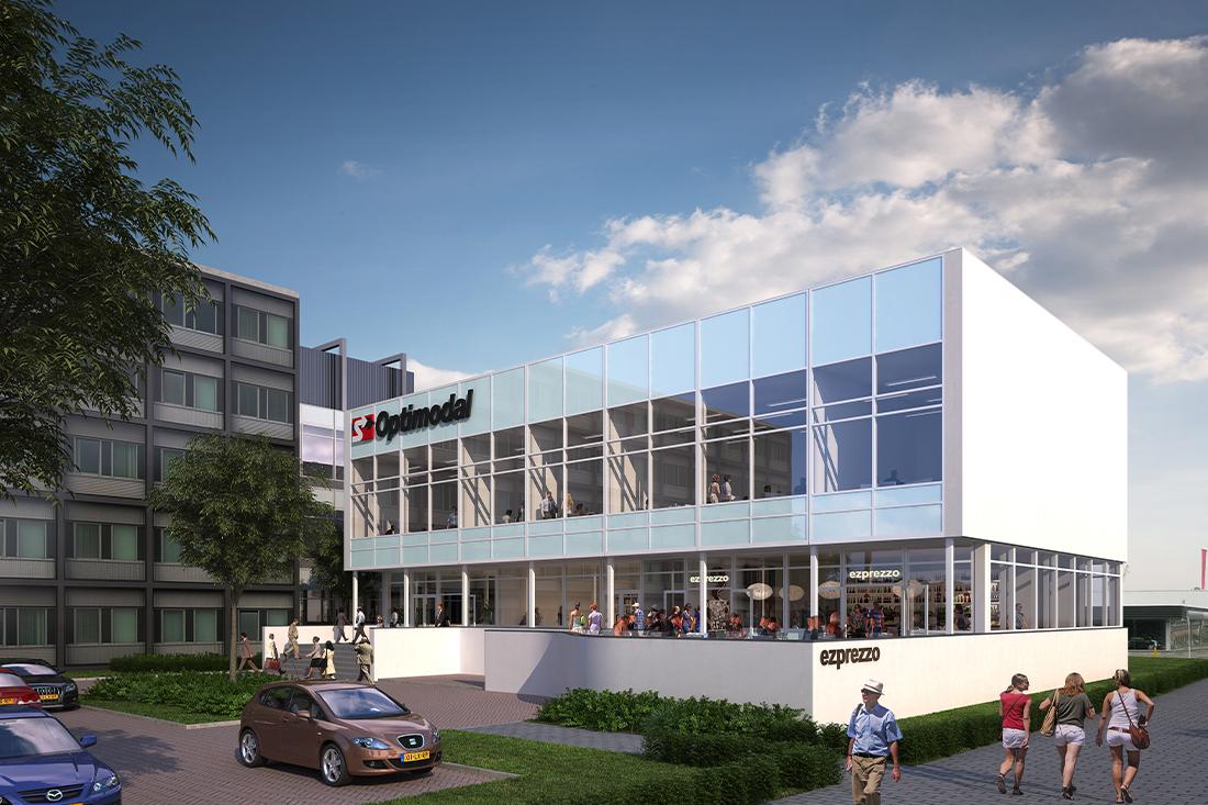 Renovatie kantoorgebouw Hoogvliet Rotterdam - Kraal Architecten 03