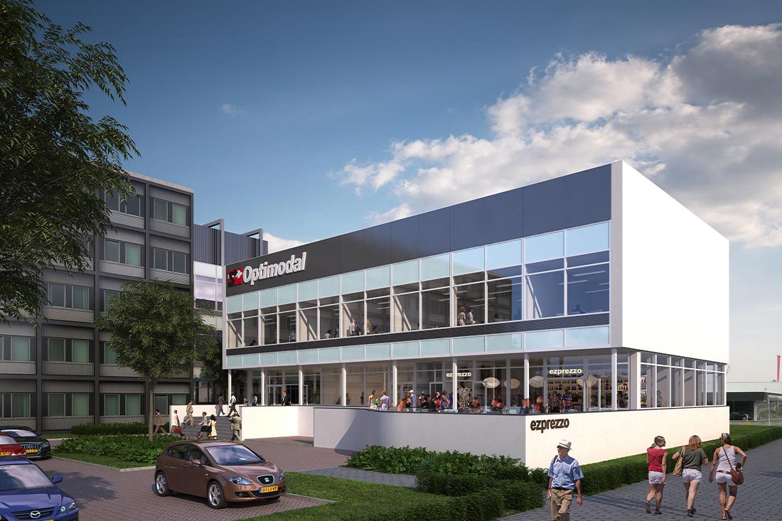 Renovatie kantoorgebouw Hoogvliet Rotterdam - Kraal Architecten 04
