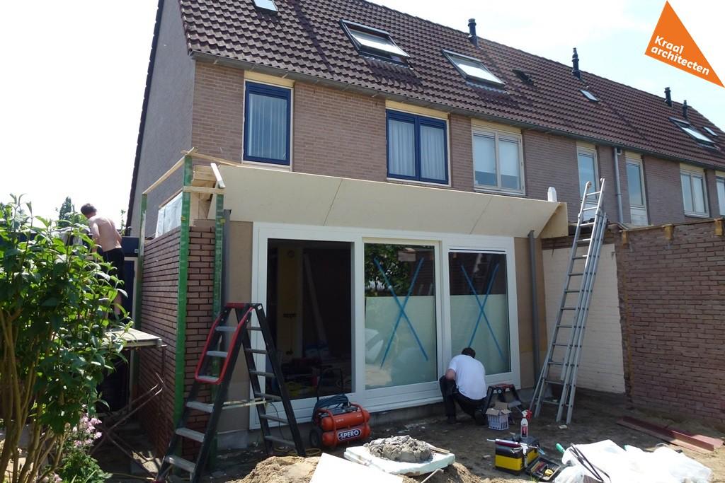 Uitbreiding aanbouw hoekwoning Zeist - Kraal architecten BNA - Architect - 03