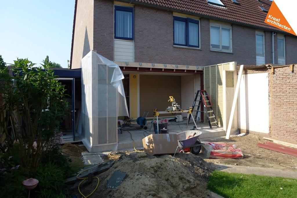 Uitbreiding aanbouw hoekwoning Zeist - Kraal architecten BNA - Architect - 04