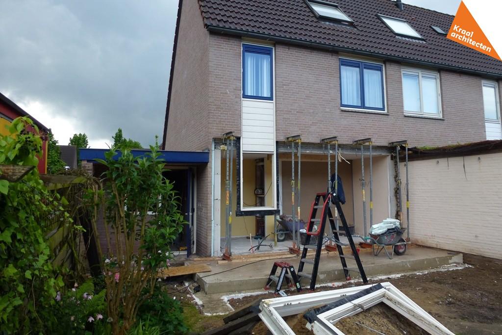 Uitbreiding aanbouw hoekwoning Zeist - Kraal architecten BNA - Architect - 05