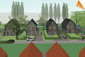 ontwerp nieuwbouw parkwoningen