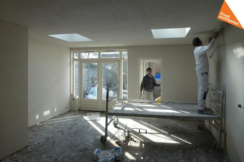 Bouwproces - Kraal architecten BNA - Uitbouw woning Nepveulaan Zeist - 08