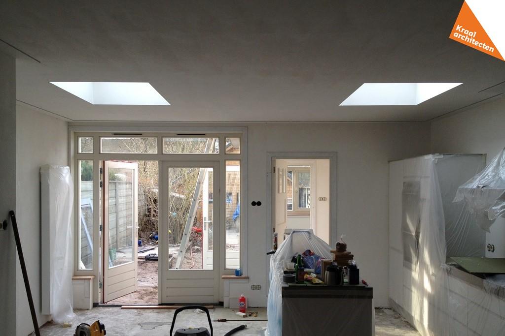 Bouwproces - Kraal architecten BNA - Uitbouw woning Nepveulaan Zeist - 09