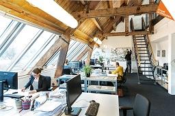 Aanbouw architect bureau