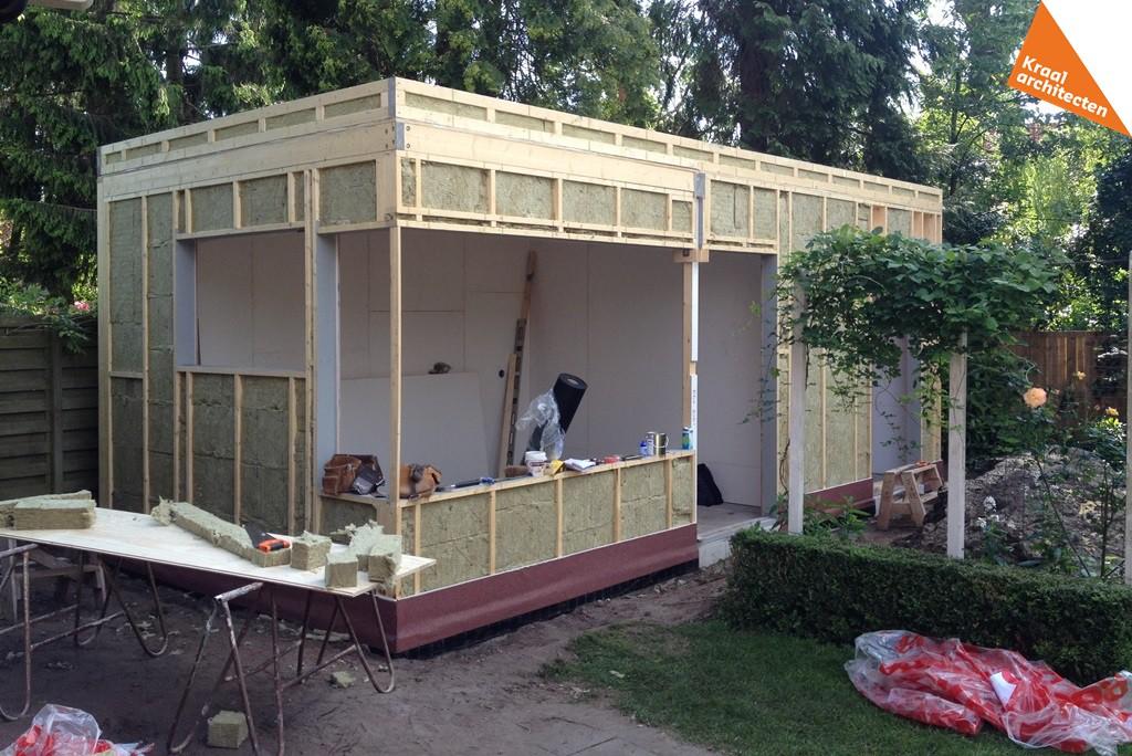 Bouwproces - Kraal architecten - Uitbreiding Bilthoven 06