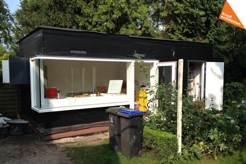 Bouwproces - Kraal architecten - Uitbreiding Bilthoven 07