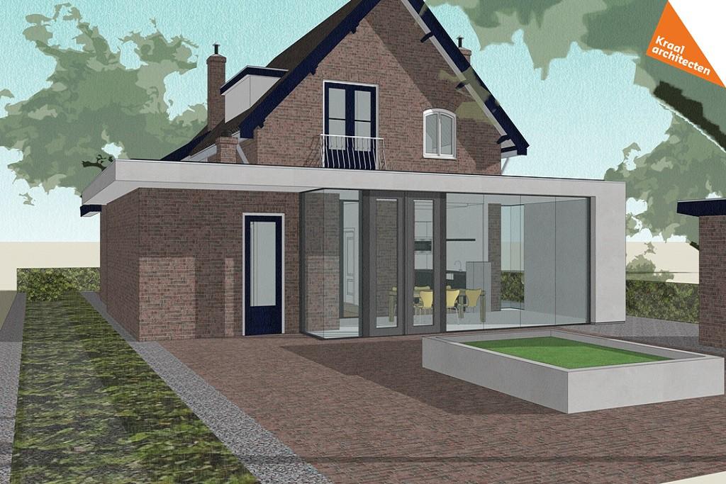 Laatste nieuws actuele projecten kraal architecten particulier - Moderne uitbreiding huis ...