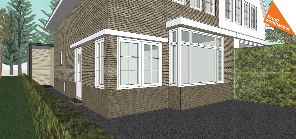 Moderne en duurzame uitbreiding woning - Kraal architecten Zeist - 02