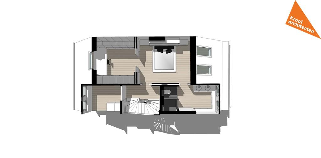 Bouwproces - Interieur verbouwing Voorburg - Kraal architecten Zolder - 01