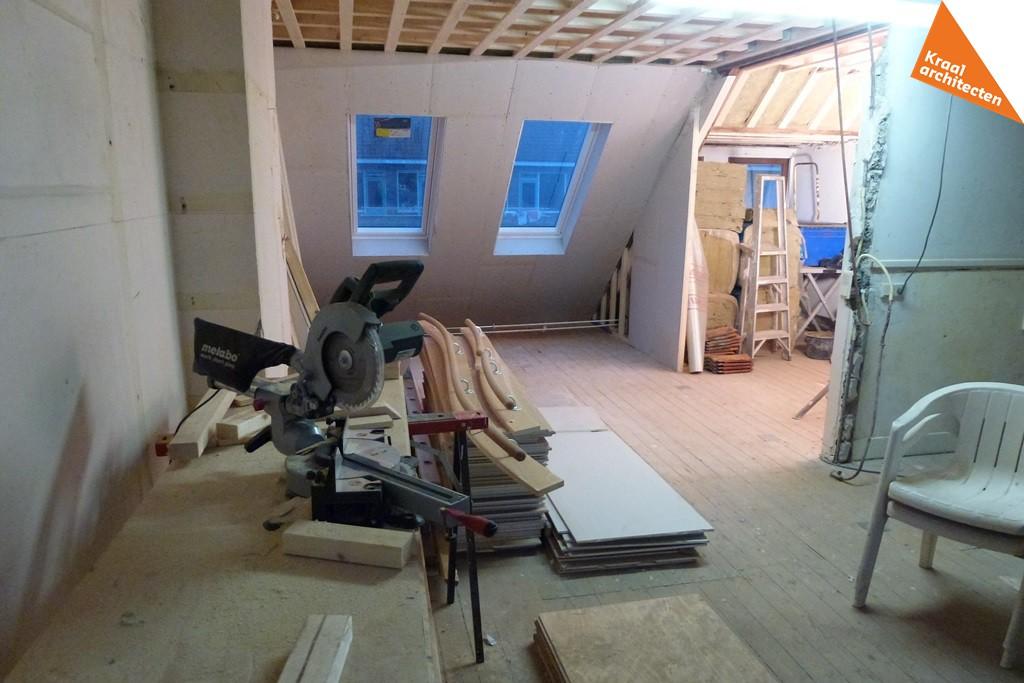 Bouwproces - Interieur verbouwing Voorburg - Kraal architecten Zolder - 05