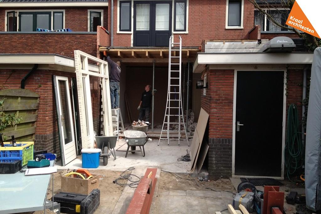 Bouwproces - Uitbreiding woning -Dichterswijk-Zeist-Kraal-architecten-05