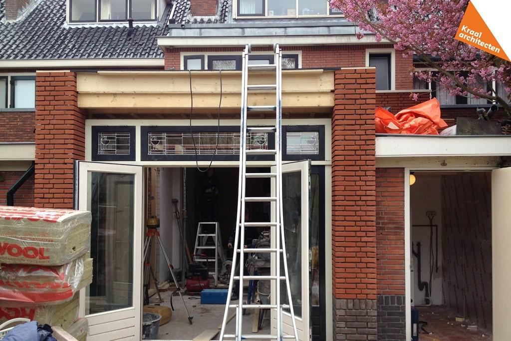 Bouwproces - Uitbreiding woning -Dichterswijk-Zeist-Kraal-architecten-07