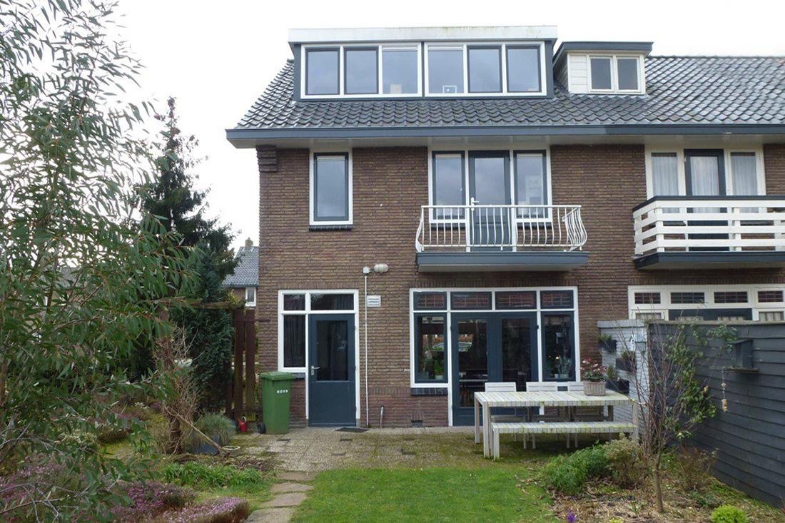 Bouwproces-uitbreiding-hoekwoning-amersfoort- Kraal architecten Amersfoort - 01