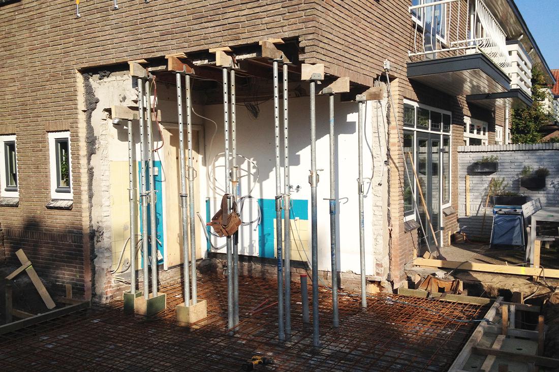 Bouwproces-uitbreiding-hoekwoning-amersfoort- Kraal architecten Amersfoort - 05