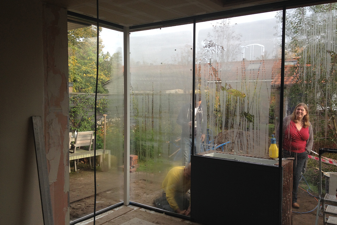 Bouwproces-uitbreiding-hoekwoning-amersfoort- Kraal architecten Amersfoort - 08
