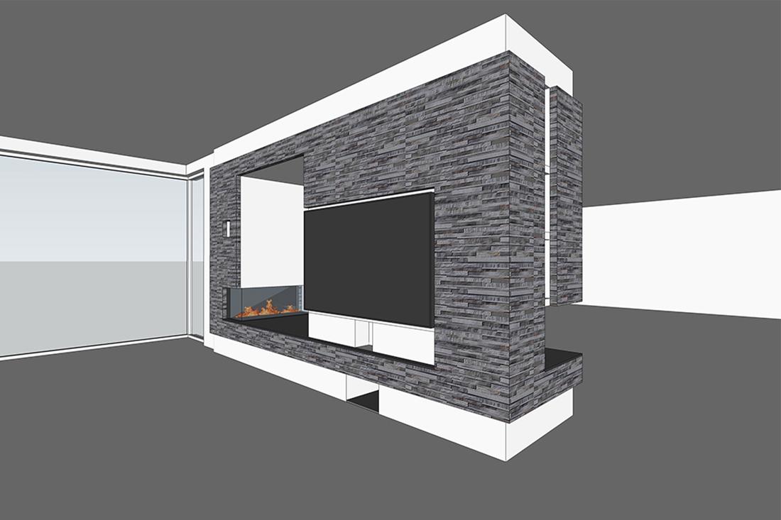 Interieurverbouwing villa Udenhout - Kraal architecten - DO_01