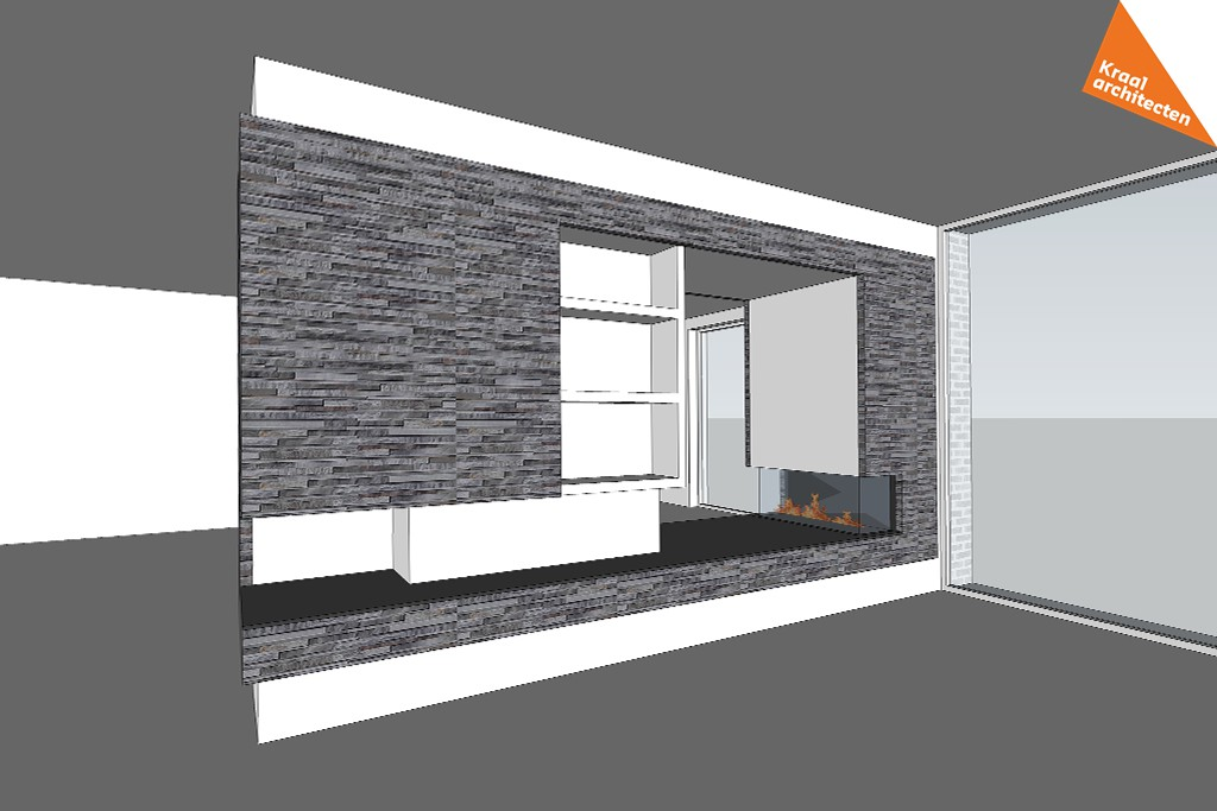Interieurverbouwing villa Udenhout - Kraal architecten - DO_02