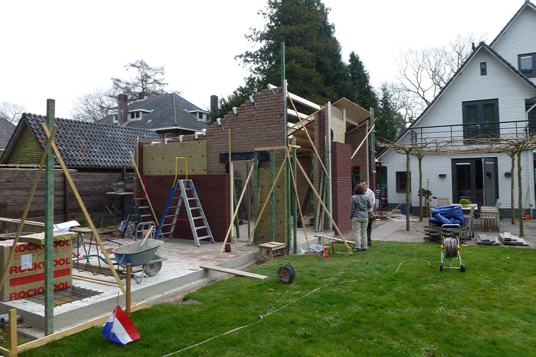Bouwproces Kraal Architecten Uitbreiding villa Kerckebosch Zeist 01