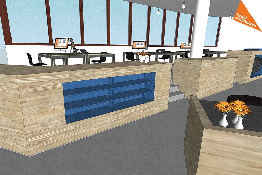 Interieurverbouwing makelaarskantoor Zeist - Kraal architecten - DO_04