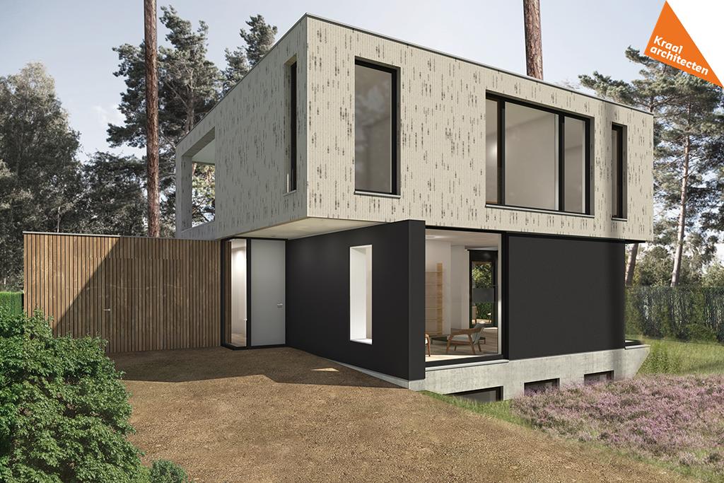 Nieuwbouw moderne villa Zeist - Kraal architecten - DO_01