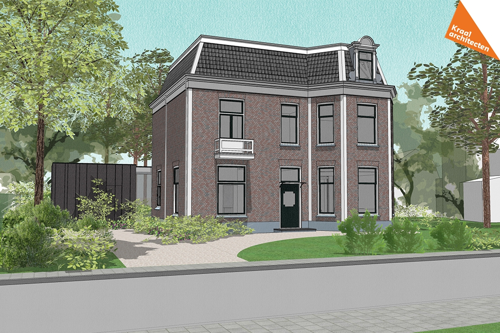 Transformatie kantoor naar woning Zeist - Kraal architecten BV - DO_01