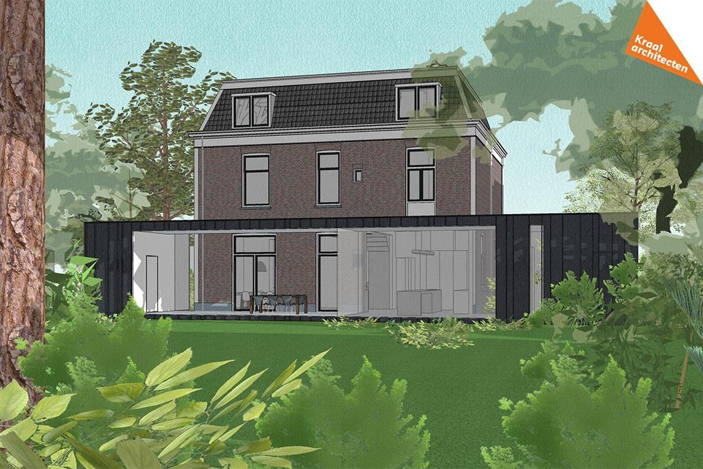 Transformatie kantoor naar woning Zeist - Kraal architecten BV - DO_03