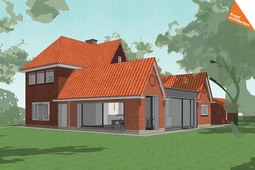 Verbouwing woning Maarn - Kraal architecten BV - DO_01
