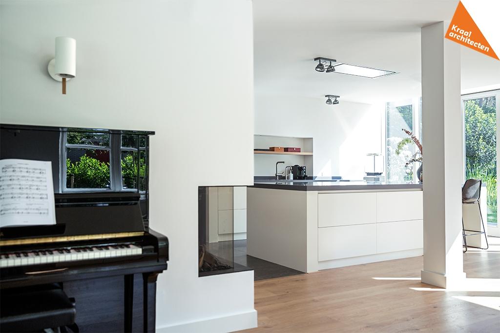 Uitbreiding en renovatie villa Bilthoven - Kraal architecten BV - DEF_014