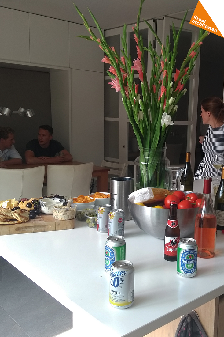 borrel in de keuken