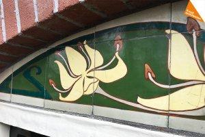 art nouveau tegels