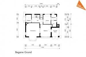 bouwkundige tekening architect nieuwbouwwoning
