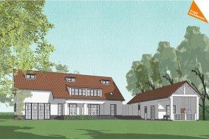 bouwkundige tekening nieuwbouwwoning