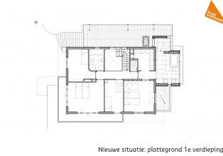 meerwaarde architect - bouwtekening