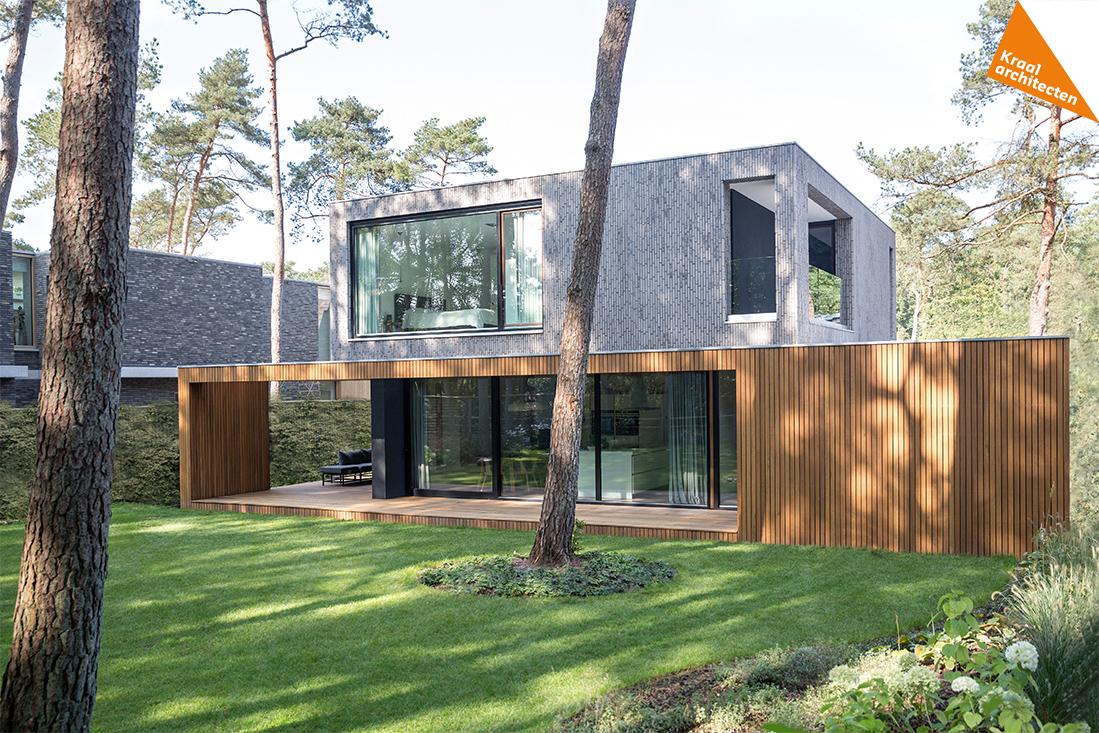 moderne nieuwbouwwoning