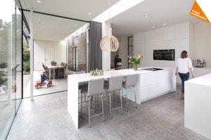 transformatie kantoor woning keuken architect