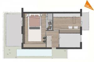 interieurontwerp eerste verdieping