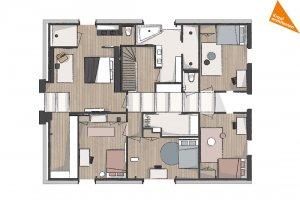 ontwerp verdieping