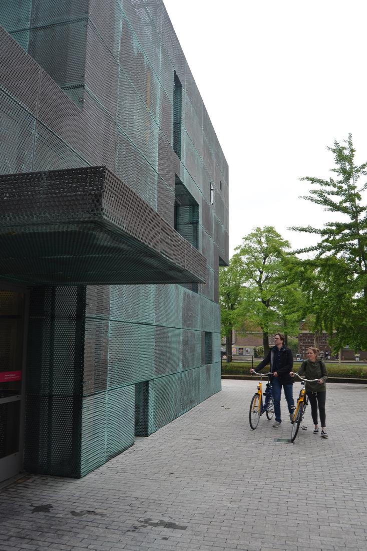 architecten bekijken Sarphatistraat offices