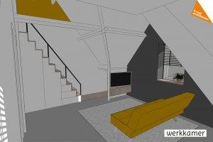 ontwerp werkkamer
