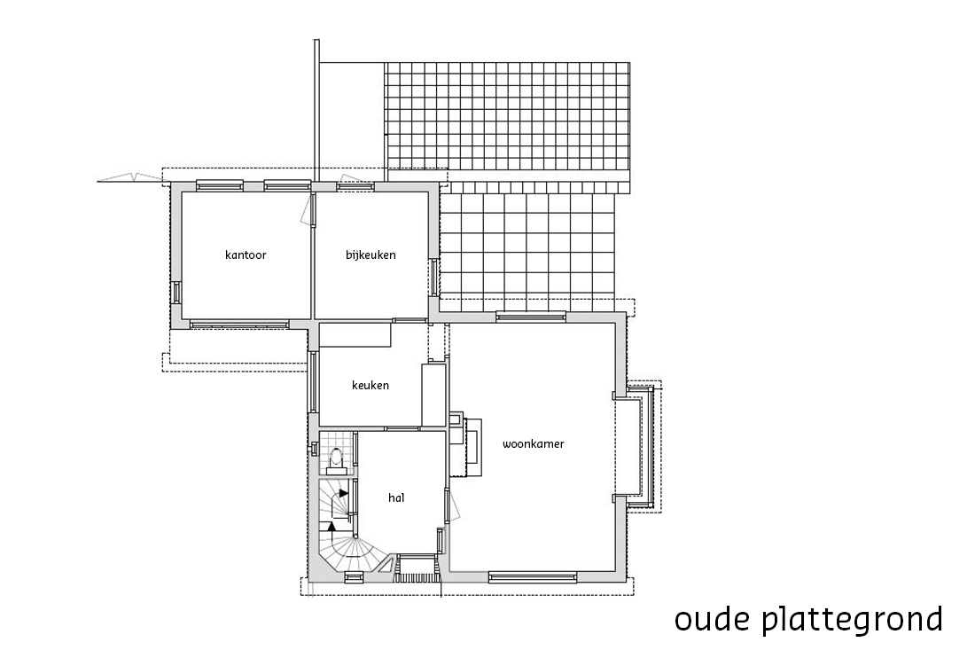 oude plattegrond